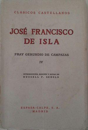 FRAY GERUNDIO DE CAMPAZAS - VOL IV