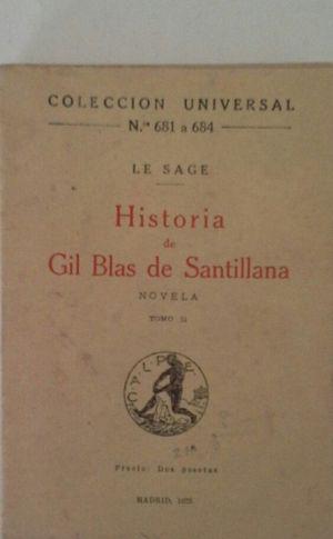 HISTORIA DE GIL BLAS DE SANTILLANA - TOMO II