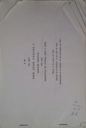 ESCALAFONCILLO DE LOS CUERPOS DE OFICIALES DE LA ARMADA -  DICIMBRE 1978