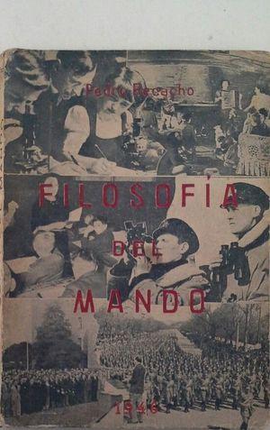 FILOSOFÍA DEL MANDO - ENSAYOS