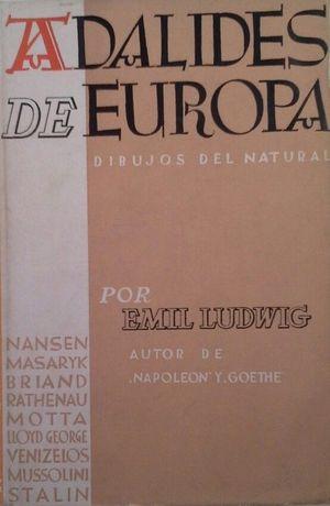 ADALIDES DE EUROPA - DIBUJOS DEL NATURAL