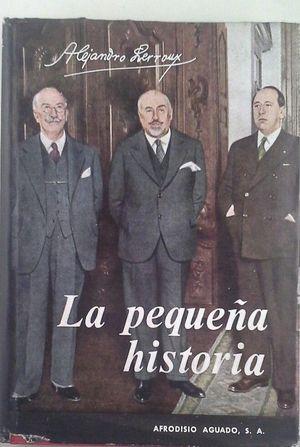LA PEQUEÑA HISTORIA