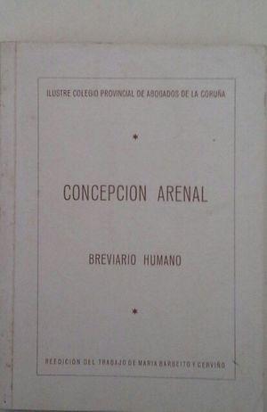 CONCEPCIÓN ARENAL - BREVIARIO HUMANO