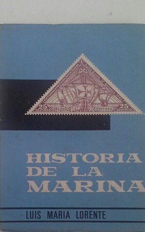 HISTORIA DE LA MARINA EN LOS SELLOS