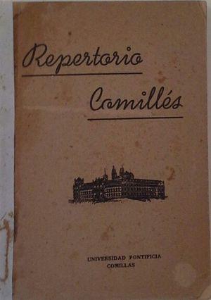 REPERTORIO COMILLÉS - COLECIÓN DE CANTOS RELIGIOSOS