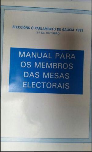 MANUAL PARA LOS MIEMBROS DE LAS MESAS ELECTORALES