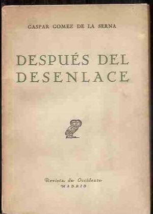 DESPUES DEL DESENLACE