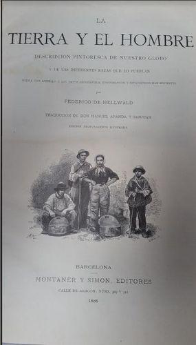 LA TIERRA Y EL HOMBRE- TOMO I
