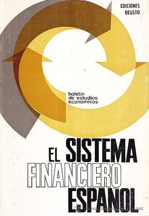 EL SISTEMA FINANCIERO ESPAÑOL