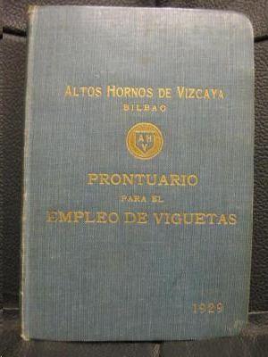 PRONTUARIO PARA EL EMPLEO DE VIGUETAS