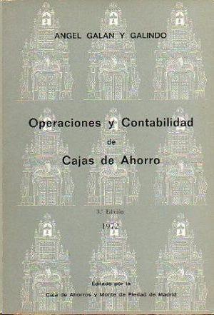 OPERACIONES Y CONTABILIDAD DE CAJAS DE AHORRO