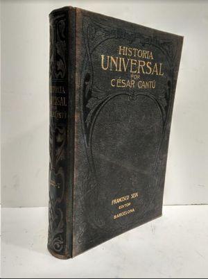 HISTORIA UNIVERSAL  TOMO V  POR CESAR CANTU