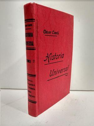 HISTORIA UNIVERSAL  TOMO 7