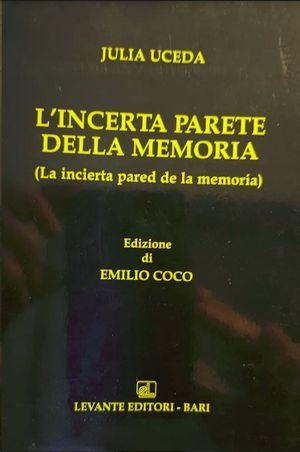 L`INCERTA PARETE DELLA MEMORIA VOLUMEN 41