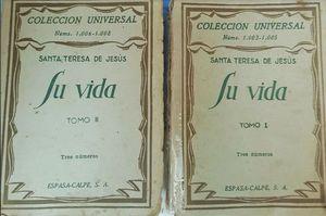 SU VIDA TOMO I Y TOMO II