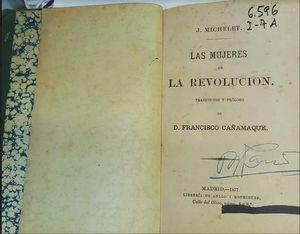 LAS MUJERES DE LA REVOLUCION