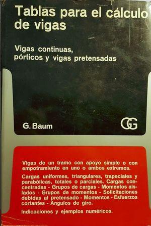 TABLAS PARA EL CALCULO DE VIGAS