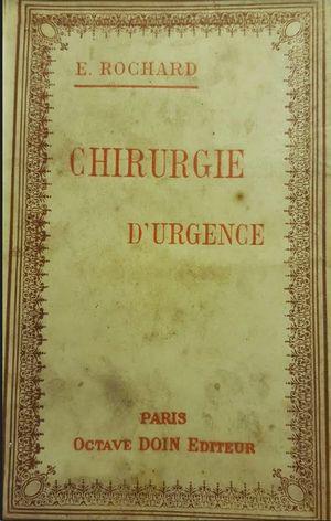 CHIRURGIE DURGENCE