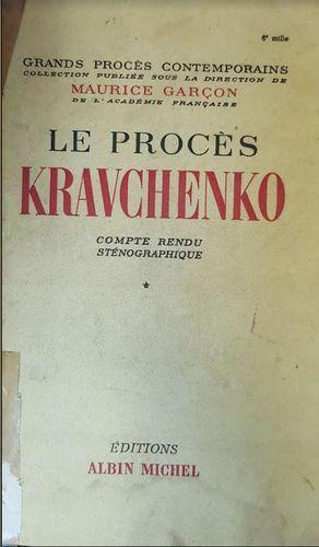 LE PROCES KRAVCHENKO