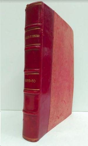REVISTA BLANCO Y NEGRO 1959 - 1960  DICIEMBRE - ENERO
