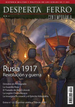 DESPERTA FERRO CONTEMPORANEA Nº 24: RUSIA 1917, REVOLUCIÓN Y GUERRA