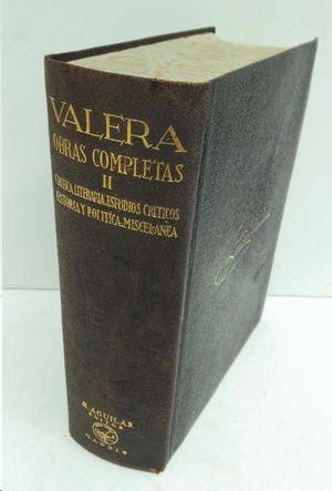 OBRAS COMPLETAS II  VALERA