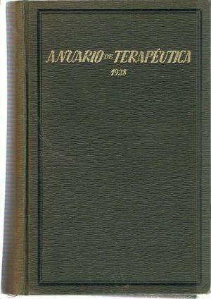 ANUARIO TERAPEUTICO 1928