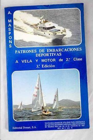 PATRONES DE EMBARCACIONES DEPORTIVAS