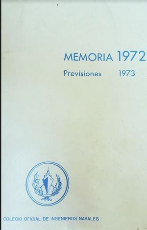 MEMORIA 1972