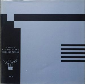 II PREMIO AQUITECTURA JULIO GALAN CARBAJAL 1993