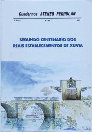 SEGUNDO CENTENARIO DOS REAIS ESTABLECEMENTOS DE XUVIA