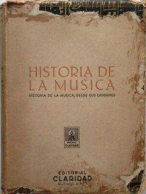 HISTORIA DE LA MÚSICA DESDE SUS ORÍGENES
