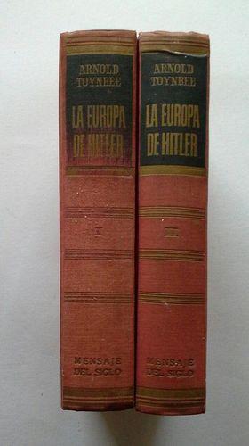 LA EUROPA DE HITLER - DOS TOMOS