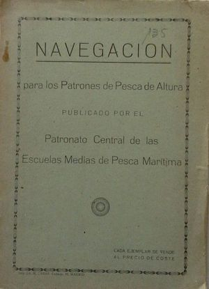 NAVEGACIÓN PARA LOS PATRONES DE PESCA DE ALTURA