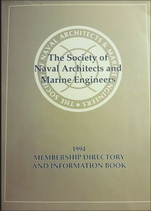 1994 MEMBRERSHIP DIRECTORY AND INFORMATION BOOK