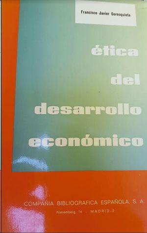 ETICA DEL DESARROLLO ECONOMICO
