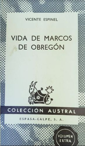 VIDA DE MARCOS DE OBREGON