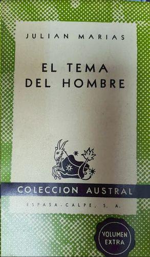 EL TEMA DEL HOMBRE