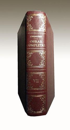 UNAMUNO OBRAS COMPLETAS TOMO VII