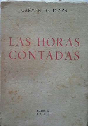 LAS HORAS CONTADAS