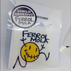 PEGATINA COCHE FERROL MOLA COLOR PEQUEÑA