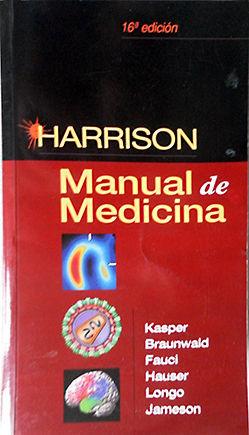 HARRISON - MANUAL DE MEDICINA, 16/E