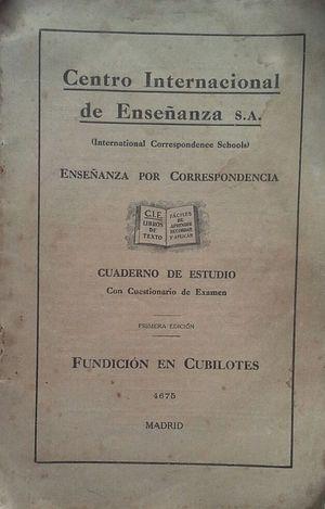 FUNDICIÓN EN CUBILOTES