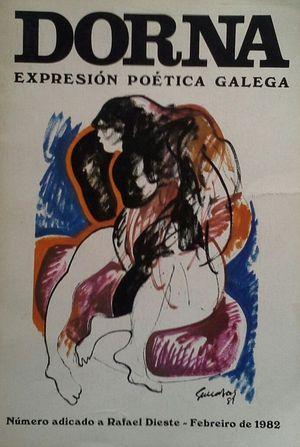 DORNA - EXPRESIÓN POÉTICA GALEGA - Nº 2 - FEBREIRO DE 1982 - NÚMERO ADICADO A RAFAEL DIESTE