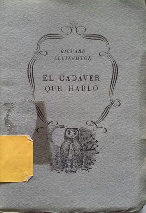 EL CADÁVER QUE HABLÓ