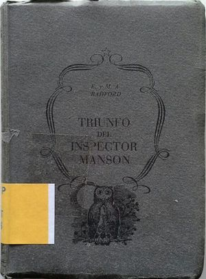 TRIUNFO DEL INSPECTOR MANSON
