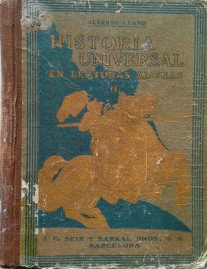 HISTORIA UNIVERSAL EN LECTURAS AMENAS II: LOS BÁRBAROS - EL IMPERIO DE ORIENTE - LA ÉPOCA CAROLINGIA - EL FEUDALISMO - LAS CRUZADAS - DISOLUCIÓN DE LA