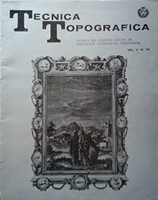 TECNICAS TOPOGRAFICAS  VOL. V - Nº 20