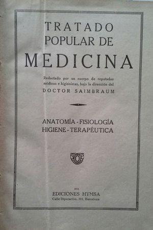 TRATADO POPULAR DE MEDICINA