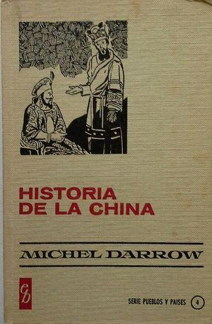 HISTORIA DE LA CHINA